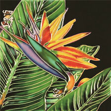"Bird of Paradise  Decorative Ceramic Art Tile - 6""x6""by En Vogue - Art on Tiles"