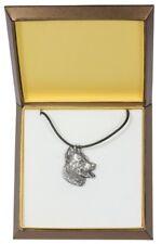Beauceron - collana rivestita in argento, in una scatola, Art Dog IT