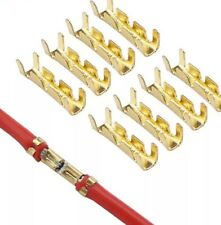 Cosse rond  U 4 mm connecteur 6-12v terminal de fil électrique Broche lot de 40