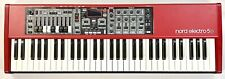 Clavia Nord Electro 5D 61 Keyboard Synthesizer Semi Weighted Waterfall Soft Case