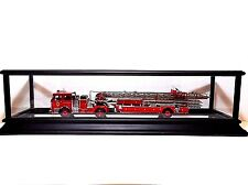 Franklin Mint '1965 Seagrave Aerial Ladder Fire Engine Truck'  With Display Case