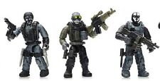 MEGA BLOKS CALL OF DUTY COVERT OPS CNF14 MINIFIGURES # 2, 3, & 4