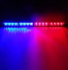 "18"" LED Emergency Warning Hazzard Light Bar Traffic Advisor Strobe Flash Lamp"