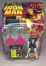 Toy Biz Marvel Comics Iron Man Spider-Woman web hurl 5in Action Figure 1994 New