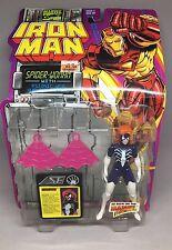 Toy Biz Marvel Comics Iron Man Spider-Woman web hurl 5in Action Figure 1994 New