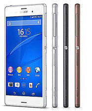 "Original Sony Xperia Z3 D6603 16GB White Factory (Unlocked) Smartphone 5.2"" 20MP"