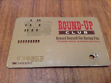 Obsolete Vintage Pioneer Casino Punch Raised Numbers Slot Card *Laughlin Neveda