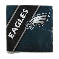 New NFL Philadelphia Eagles 20pcs Dinners Napkins Partyware Party Supplies