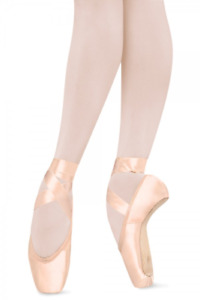 Pink satin Bloch Suprima pointe shoes - S0132