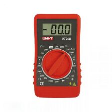 Very Small Mini Digital Multimeter UT20B , Digits Manual Range. (95/52/26mm)