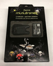 Parrot Mini Drones 550 Mah Battery and Chargueur - Battery Charger New