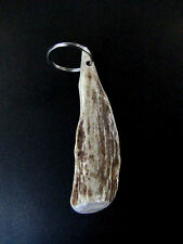 Deer Antler Brow Tine Key Ring,Key Fob,Chain,Charm,Crafts,Pe ndant,Ornament,F-229