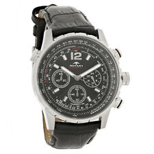Rotary Aquaspeed Mens Black Dial Chronograph Quartz Watch GS00175-04