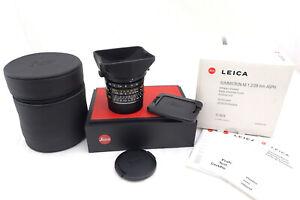 Leica SUMMICRON-M 1:2/28mm Aspherical - 11604 - Mint - Leica Specialist Retailer