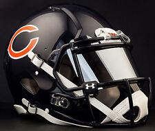 ***CUSTOM*** CHICAGO BEARS NFL Riddell Speed AUTHENTIC Football Helmet