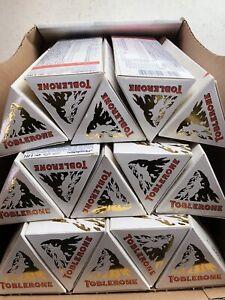 5 x TOBLERONE 360 g weiße Schokolade 5 Stück 1,8 kg MHD 05/2021 White Swiss choc