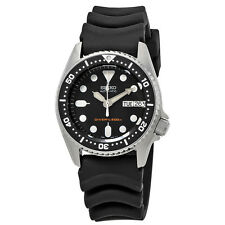 Seiko Black Automatic Diver Mens Watch SKX013K1