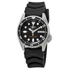 Seiko Black Automatic Diver Mens Watch SKX013K1