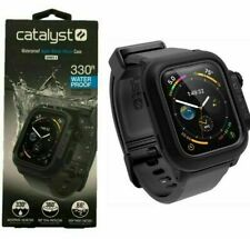 Catalyst Waterproof Case for Apple Watch 44m, Series 5, Series 4 BLACK FREE SHIP
