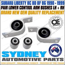Subaru Liberty BC BD BF BG Front Lower Control Arm Inner Bush Kit LEFT+RIGHT