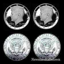 2019 P+D+S+S Kennedy Half Dollar Silver Clad Mint Proof Set ~ PD from Mint Rolls