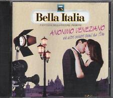 """RARO CD 1990 EMI BELLA ITALIA """" ANONIMO ITALIANO """" TEMPERA VENTURA CALVI RANIERI"""