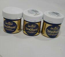 3x La Riche Directions Semi Permanent Hair Dye - Silver 88ml