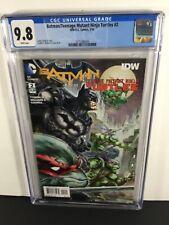 🔥🔥IDW-DC BATMAN/TEENAGE MUTANT NINJA TURTLES # 2 CGC 9.8 MT COMICS🔥🔥