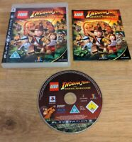 LEGO Indiana Jones: The Original Adventures Sony PlayStation 3 PS3 Game Free P&P