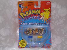 Pokemon Mini Skateboard w/t Charizard / Removable Wheels / Wrench Unopened 1999