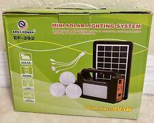 Mini Solar Lighting System
