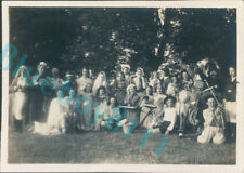 More details for girl guides  fancy dress parade at  waddow lancashire 1941 3.25 x 2.25 inches