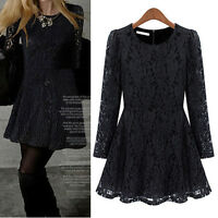 Women Casual Party Club Dress Clubwear UK Size 8 10 12 14 16 18 20 22 24 #6301N