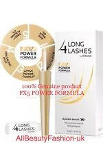 New, LONG 4 LASHES FX5 POWER FORMULA EYELASH GROWTH Serum 3ml Special Offer