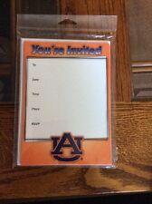 Auburn University Invitations  (10 Count With Envelopes)