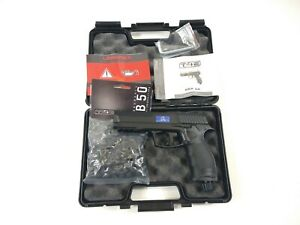 Umarex HDP 50 Real Defense C02 EXTRA POWER 36 Joules T4E .50 Cal BLACK EDITION