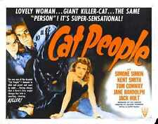 Cat People Poster 06 A2 Box Canvas Print