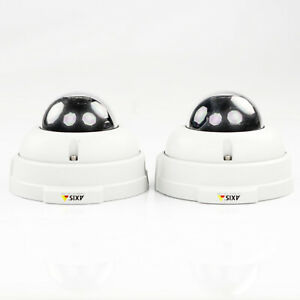 Lot of 2 AXIS 225FD Fixed Dome Network IP Surveillance Camera 0243-001-02