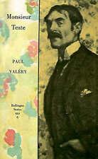 NEW Monsieur Teste by Paul Valéry