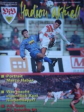 Programm 1995/96 VfB Stuttgart - Schalke 04
