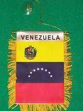 "VENEZUELA FLAG MINI BANNER 4""x6"" CAR WINDOW MIRROR NEW"