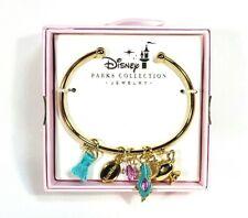 Disney Parks Kingdoms + Castles Jewelry Gold Jasmine Bracelet New