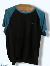 Men's Hollister Blue Ringer T-Shirt Size Small