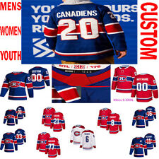 Montreal Canadiens 2021 Reverse Retro Jersey Josh Anderson Carey Price Custom