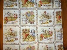 Garden Design Fabric Olde as Thyme by Kris Lammers Maywood Studio