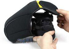 Soft Camera Case Bag Pouch Cover Protector For Nikon D200 D300 D700 18-200 lens