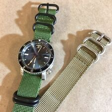 County Comm SR-3 Mid Diver Automatic Watch + 2 Nato Bands