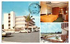 1971 Travelodge, West Palm Beach, FL Postcard