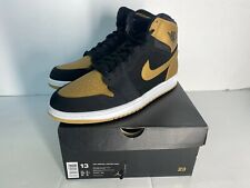 Nike Air Jordan 1 Melo Retro Black Gold Carmelo Anthony 332550-026 Size 13 DS