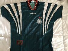 Germany 96-98 Jersey Away Adidas Official Size: G-L Original Soccer Germany